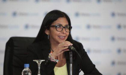 La vice-présidente du Venezuela achève sa visite en Algérie