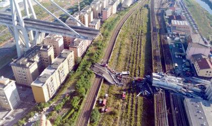 Effondrement du pont Morandi en Italie : le bilan s'élève à 35 morts