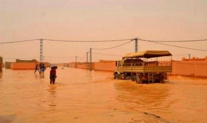 Inondations à Batna