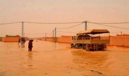 Intempéries de Tamanrasset : le bilan s'alourdit