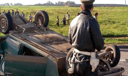 Accidents de la route : 19 morts et plus de 333 blessés en une semaine dans différentes zones urbaines
