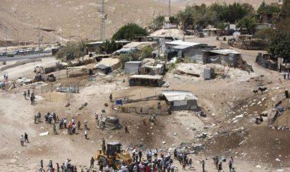 Amnesty qualifie la démolition d'un village palestinien de «crime de guerre»