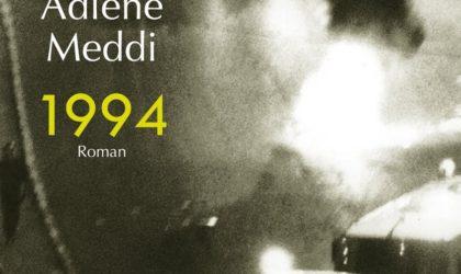 Adlène Meddi lauréat du prix Transfuge 2018 pour son livre «1994»