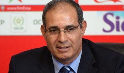 Ligue 1 Mobilis /MCO : le départ de l'entraîneur Badou Zaki confirmé