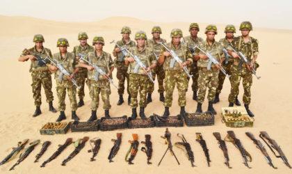 Découverte d'une cache d'armes à In Guezzam