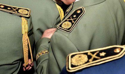 Selon un journal arabe : cinq hauts gradés de l'ANP bientôt jugés
