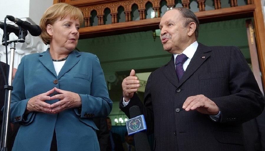 Merkel, Boutef Angela