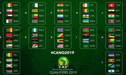 Football/ Eliminatoires de la CAN-2019 (Groupe D/2e j) : le point sur le groupe après Gambie-Algérie (1-1)