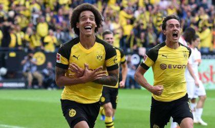 Allemagne : Dortmund prend provisoirement la tête de la Bundesliga
