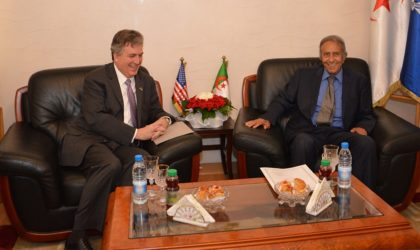 L'ambassadeur des Etats-Unis chez Mustapha Lahbiri