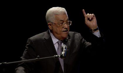 Mahmoud Abbas : «Les Etats-Unis sapent la solution à deux Etats»
