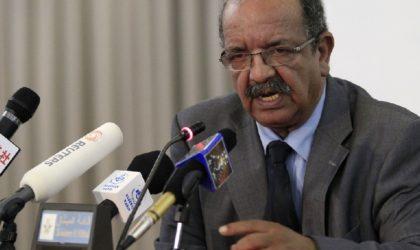 Messahel réitère la position constante de l'Algérie envers la cause palestinienne