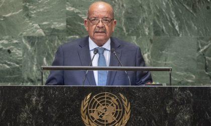 Discours du ministre des Affaires étrangères à la 73e session de l'Assemblée générale de l'ONU