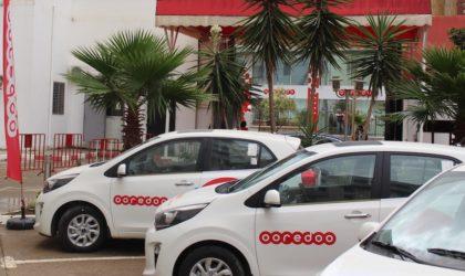Jeu Quiz Ooredoo: remise aux gagnants des voitures et des smartphones