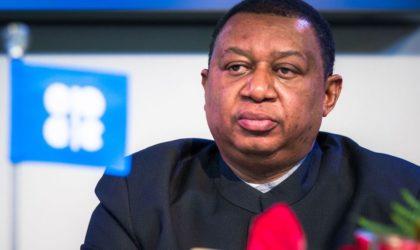 Le secrétaire général de l'Opep appelle à la poursuite des efforts en vue de maintenir la stabilité du marché