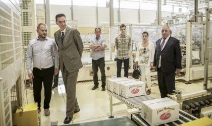 L'ambassadeur de la Serbie visite les usines du groupe Condor