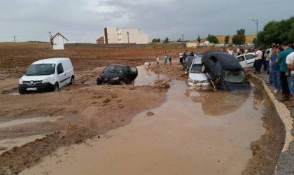 Intempéries à Constantine : deux morts et sauvetage de 11 personnes coincées dans leurs véhicules