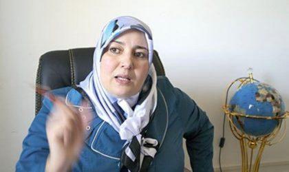 Naïma Salhi dépose plainte contre des «partisans» de Saïd Sadi