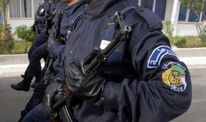 MM. Lahbiri et Driencourt évoquent le renforcement de la coopération entre les polices algérienne et française
