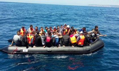 Oran : trente candidats à l'émigration clandestine interceptés au nord de Cap Falcon