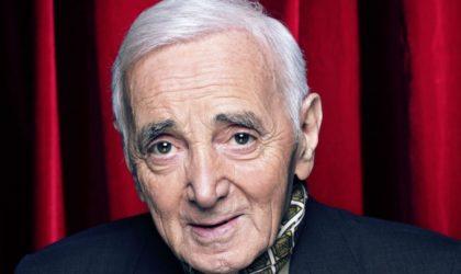 Décès du chanteur français Charles Aznavour à l'âge de 94 ans