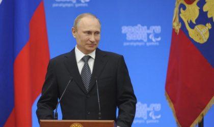 Poutine signe une convention d'extradition mutuelle avec l'Algérie
