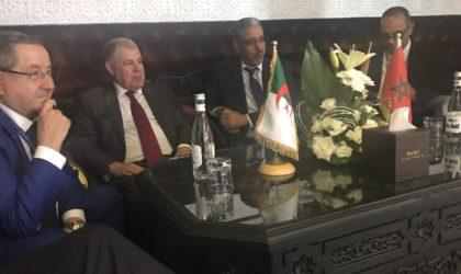 Mustapha Guitouni rencontre son homologue marocain à Marrakech