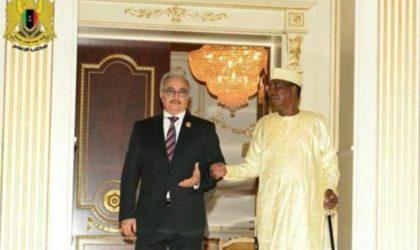Idriss Déby, Khalifa Haftar et un conseiller de Sissi en réunion secrète à Ndjamena