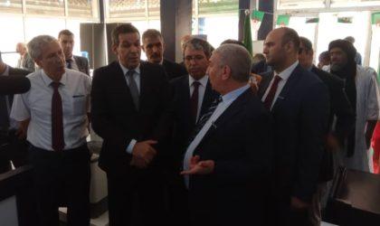 Le Ministre du Commerce visite le showroom Condor à Nouakchott