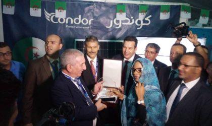 Condor présent à la foire des produits algériens en Mauritanie