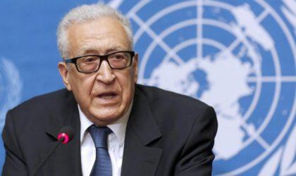 L'ex-ministre des Affaires étrangères Lakhdar Brahimi corrige Bernard Bajolet