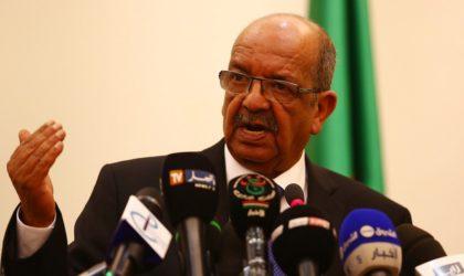 Messahel : «L'Algérie disposée à partager son expérience avec la communauté internationale dans sa lutte antiterroriste»