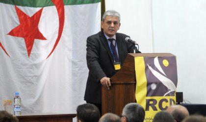 Le RCD refuse de participer à l'installation d'un président factice au perchoir de l'APN
