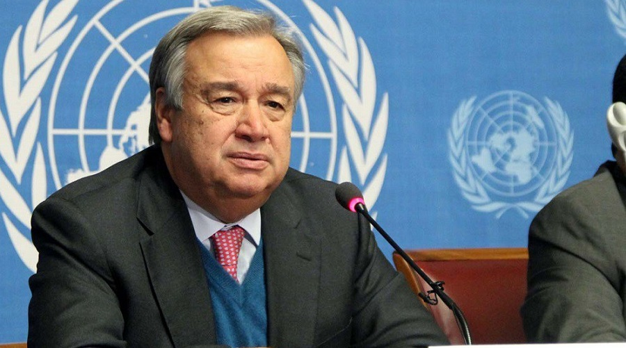 le mandat, ONU-Guterres
