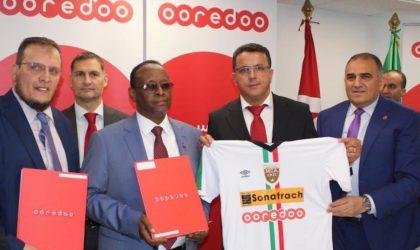 Ooredoo signe un partenariat de sponsoring avec le Mouloudia Club d'Alger