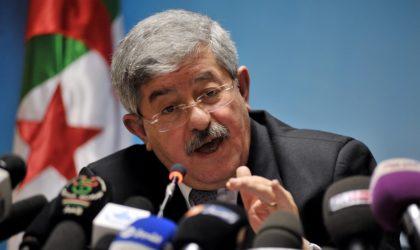 Ahmed Ouyahia : «Le PLF 2019 sera soumis à l'APN dans les semaines à venir»