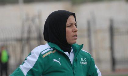 Radia Fertoul (EN Dames) : «Notre objectif, le deuxième tour»