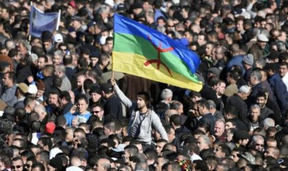 Marche des lycéens en Kabylie pour le boycott de la langue arabe