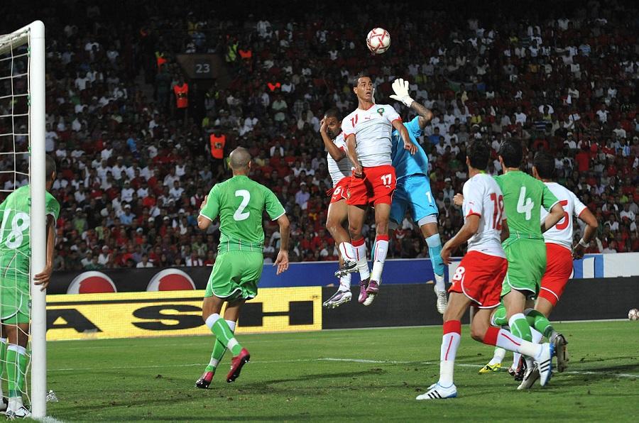 Sélection algérienne, Rivalité