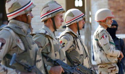 Elle effectue un exercice près de la frontière libyenne : l'armée égyptienne prépare-t-elle son entrée à Benghazi ?