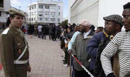 Maroc: Le Monde évoque «une vague sans précédent d'arrestationsde migrants»