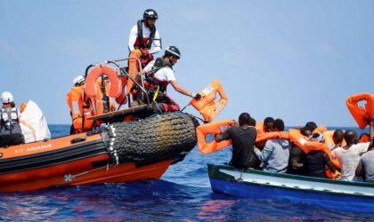 Les gardes-côtes espagnols submergés par l'arrivée massive de «harraga» algériens