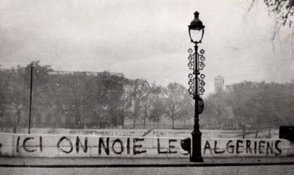 Massacre d'octobre 1961 : pour que nul n'oublie