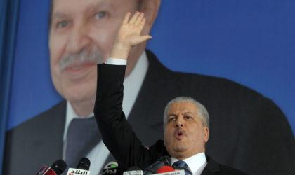 Sellal : «Personne ne peut empêcher Bouteflika de se présenter à la présidentielle»