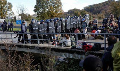 Des Algériens veulent forcer le passage vers l'Europe à travers la Bosnie