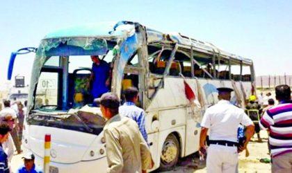 Egypte : sept coptes tués dans l'attaque de leur bus