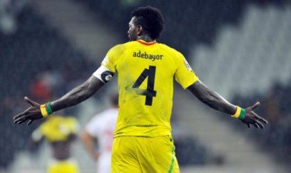 Qualifications CAN-2019 : les Eperviers avec Adebayor contre l'Algérie