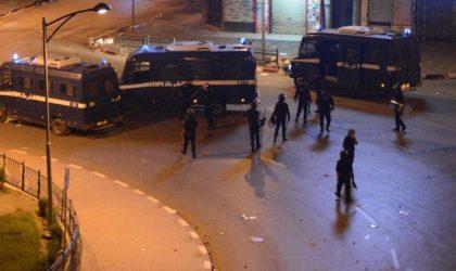 Violents affrontements à Alger : le football menace la sécurité du pays
