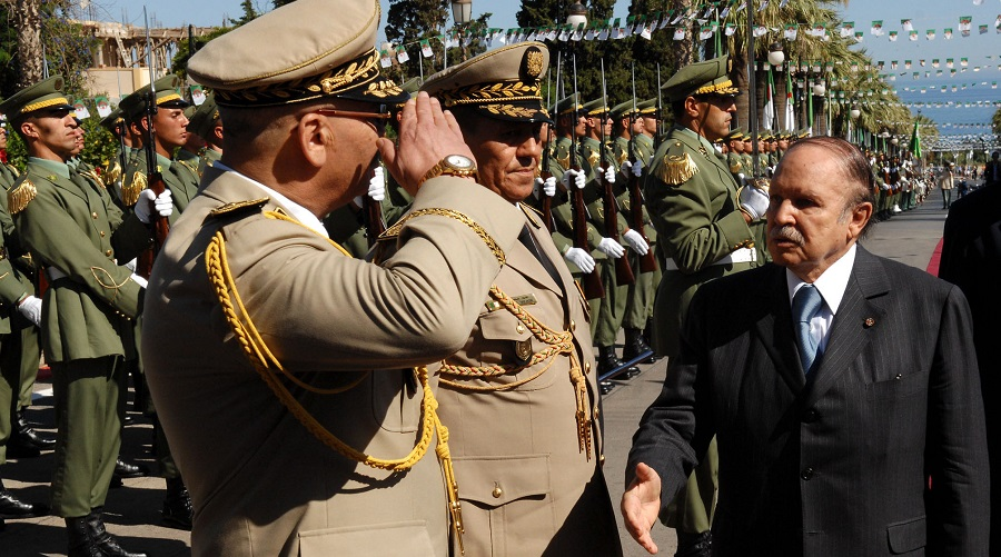 Généraux ANP Bouteflika