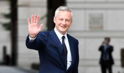Le ministre français de l'Economie et des Finances ce dimanche à Alger